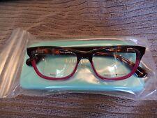 Kate Spade Eyewear Frames Model: Myrna Havana/Burgundy 51 Eyesize New with Case