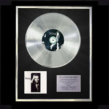 STING (THE POLICE) NOTHING BUT THE SUN  CD PLATINUM DISC FREE P+P!!