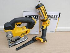 DEWALT XR 18V DCS331 BARE UNIT CORDLESS JIGSAW + DCL050 WORKLIGHT