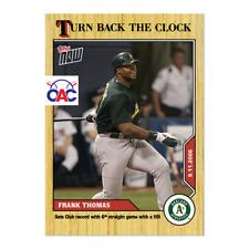 2020 Topps Now Turn Back the Clock #165 Frank Thomas Oakland Athletics