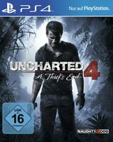 PS4 / Sony Playstation 4 - Uncharted 4: A Thief's End [Standard] DE/EN mit OVP