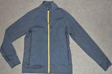 Mens Sz Small Lululemon Trainer Gray Yellow Full Zip Track Jacket Sweater Top