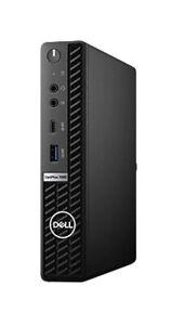 Dell OptiPlex 7080 (Win Pro,256GB SSD, Intel Core i7 10th Gen, 16GB) Micro Tower