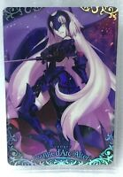 Fate Grand Order FGO Wafer Card Revival No.31 Avenger Jeanne d'Arc Alter