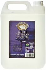 GOLDEN SWAN White Vinegar 5 Litre Pack of 4 Stain Remover Weedkiller Cooking