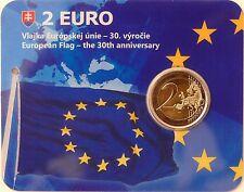2 Euro commémorative de Slovaquie 2015 Brillant Universel (BU) - Drapeau UE