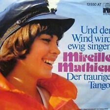"""Mireille Mathieu(7"""" Vinyl)Und Der Wind Wird Ewig Singen-Ariola-13 550 AT-Germany"""