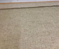 MARK & SPENCER / NEXT BROWN CHENILLE UPHOLSTERY FABRIC 1.6 METRES