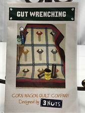 "Gut Wrenching Quilt Pattern Masculine Corn Wagon Quilt Company Approx 52""x58"""