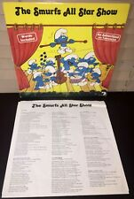 THE SMURFS ALL STAR SHOW Vinyl Record LP 1981 ARI-1022 DUTCH Import VG/VG++