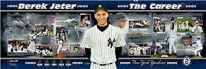 "Derek Jeter New York Yankees MLB Career Panoramic Photo (Size: 12"" x 36"")"