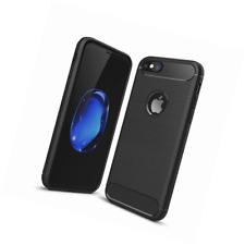 FinestBazaar Brushed Grip Fitted Case for iPhone 5/5S - Black