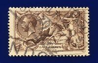 1918 SG414 2s6d Chocolate-Brown Bradbury Wilkinson N65(3) London GU Cat £75 cpmf