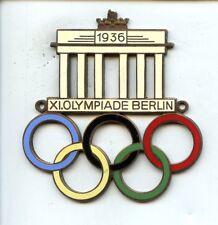 Original 1936 Berlin Olympics Automobile Medallion NRMT