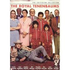 The Royal Tenenbaums 2 X DVD Wes Anderson 2002 as Criterion Collection R1