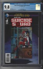 New Suicide Squad Futures End #1 CGC 9.8 NM/M 3-D Lenticular cover Harley Quinn