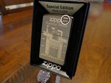BARBOUR STREET ZIPPO OFFICES 60TH ANNIVERSARY ZIPPO LIGHTER MINT IN BOX