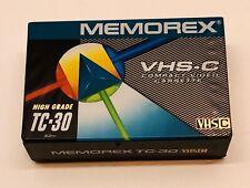 Memorex VHS-C Camcorder Compact Video Cassette Tape Factory Sealed New Vintage