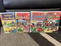 Lot Of 4 Vintage Life With Archie Comic Books #166, #207, #96, #87