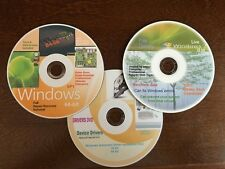 WINDOWS 7 64-bit 3 disc *Total* Recovery ReInstall Repair Home Premium & Pro