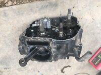 83 84 85 86 HONDA XL600R XL 600 R Bottom End Crank Block Engine Used Good 1984
