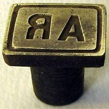 Sceau initiale au choix cachet tampon monogramme siegel