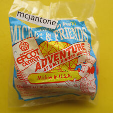 MIP McDonald's 1994 Epcot Adventure MICKEY MOUSE USA Disney Patriotic CAKE TOP