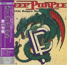 DEEP PURPLE - THE BATTLE RAGES ON… ( MINI LP AUDIO CD with OBI )