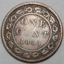 Canada 1859 Large Cent, DP9 #3 Variety (5a)