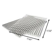 Grill Care 17527 Stainless Steel Grids Compatible with Weber Spirit and Genesis