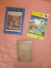 Petit lot de 2 Livres anciens (1887 / 1930) et une carte ancienne 1959 du Jura