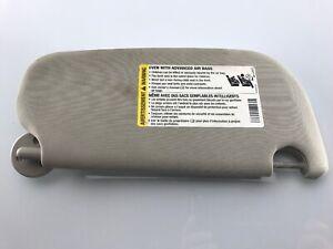 2005-2010 Chevrolet Cobalt Sunvisor Visor Shade LH/Driver Grey OEM Used