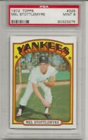 1972 TOPPS #325 MEL STOTTLEMYRE, PSA 9 MINT, NEW YORK YANKEES,  L@@K !