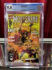 Wolverine #35 CGC 9.4, 1991 Marvel Comics MCU