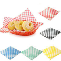 Wax Paper Sheets Food Papers for Bread Sandwich Burger French Fries 2pack/48pcs
