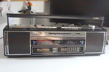Vintage Stereo AIWA CS-WX500 boombox dual cassete deck recorder funzionante