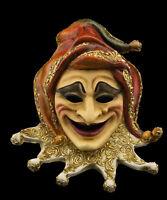 Maschera Di Venezia Joker Carta Pesta Creation Artigianale Per Collezione 22365