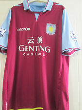 Aston Villa 2012-2013 Home Football Shirt Adult Size Large /40432