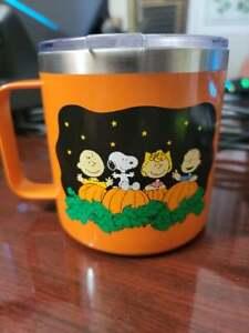 Snoopy Peanuts Mug Halloween 20 oz with Lid