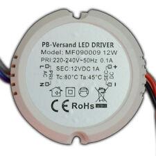 LED Leuchmittel Trafo 12 Watt 12V DC rund klein Netzteil Treiber Transformator