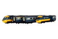 Dapol 2D-019-010 N Gauge Class 43 HST Intercity 125 Blue/Grey 4 Car Set