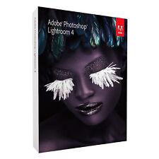 Original Adobe Photoshop Lightroom 4 DVD Vollversion Windows & Mac OS *in OVP