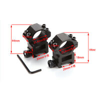 Useful Tactical Rifle Scope Rings 25.4x20mm Dovetail Rail Mount Weaver EW