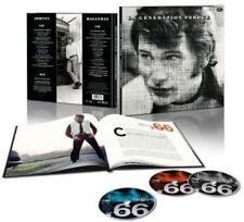 CD de musique variété Johnny Hallyday, sur coffret