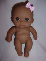 "Berenguer Baby Doll Brown Eyes Lil' Cutesies Ethnic 9"" Toy"