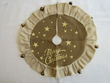 "14"" Small Putty vintage Style Christmas Tree Skirt - Ragon House New Rhc9125"