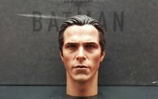 Genuine Hot Toys 1:6 DX12 Batman TDKR action figure's Bruce Wayne head sculpt
