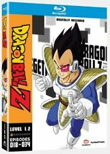 Dragon Ball Z Level 1.2 Bluray Boxset Episodes 018-034 Region A, B