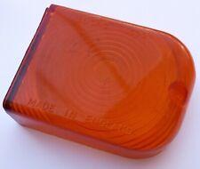 Genuine NOS Lucas L630 LH Amber Lens, for Morris Oxford Austin A55 etc, 54570135