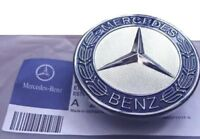 MERCEDES BENZ SPORT BONNET BADGE - 57MM NEW - C E S CLK AMG CLASS EMBLEM